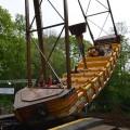 Il passe cinquante heures dans le bateau pirate d'un parc d'attraction