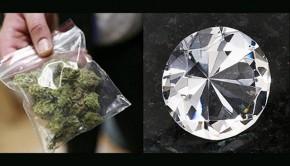 Il vole et échange un diamant évalué à 126 000 euros contre du cannabis