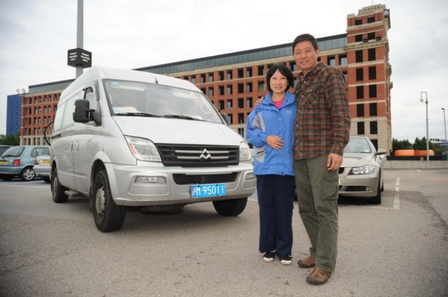 Ils quittent leur travail pour rallier en van la Chine au Royaume-Uni