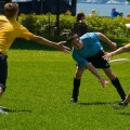 Un fugitif se fait arrêter en participant à un tournoi d'ultimate