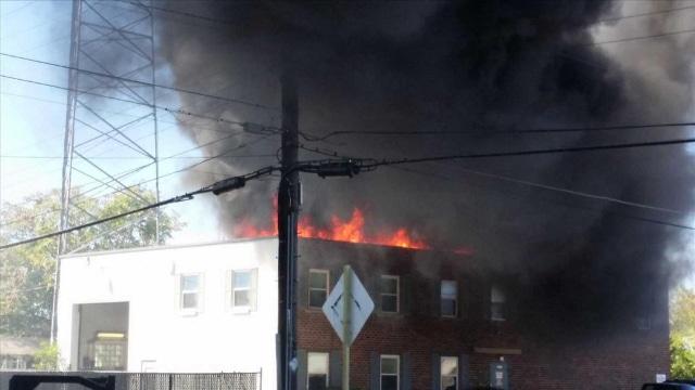 L'incinération d'un obèse met le feu au toit d'un crématorium