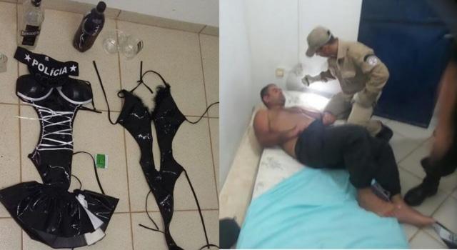 Des prisonniers s'évadent après que trois femmes déguisées en dominatrices séduisent et menottent les gardiens