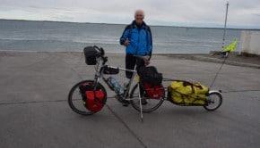 À 67 ans il voyage d'Aix-les-Bains à Ushuaïa en vélo