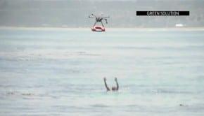 Des drones porteurs de bouée pour assister les sauveteurs en mer