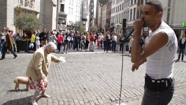 mamie danse sur beatbox Bruxelles