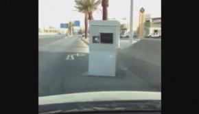 radar de vitesse installé milieu voie Arabie Saoudite