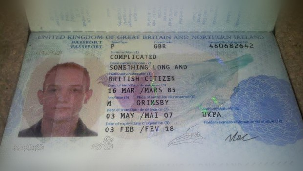 Passeport Monsieur Something Long And Complicated