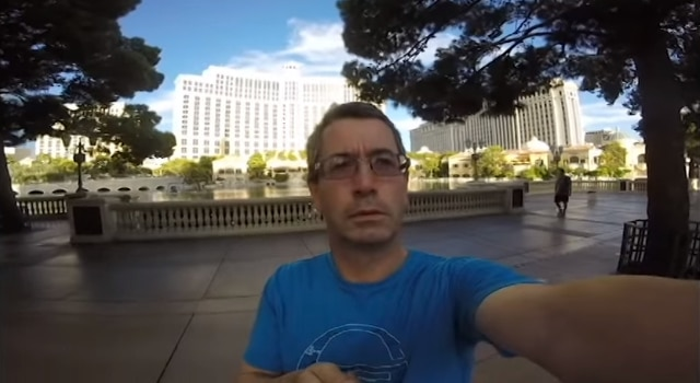 film vacances Las Vegas en mode selfie