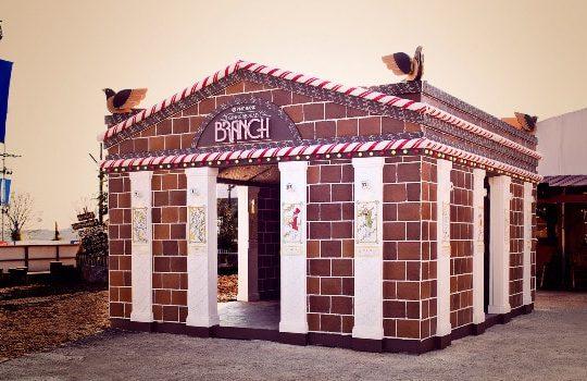 PNC Bank créée agence bancaire pain d'épices