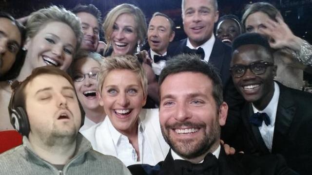 endormi deuxième jour de stage détournement selfie des oscar