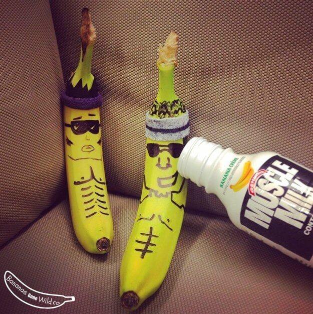 Bananes musclées - business plan insolite