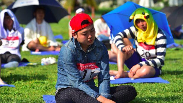 concours d'inactivité en Corée du Sud